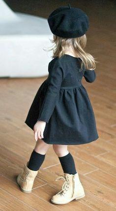 Fashion kids baby daughters ideas for 2019 Fashion Kids, Little Girl Fashion, Toddler Fashion, Look Fashion, Little Girl Style, Fashion Black, Fashion Women, Boys Style, Fashion 2016