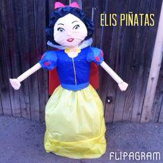 Snow White Pinata visit my Facebook page Elis piñatas in Phoenix,Az.