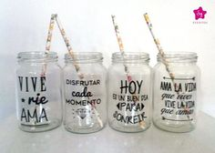 Vaso Personalizado, Frases, Tragos, Frascos Drinks - $ 55,00: