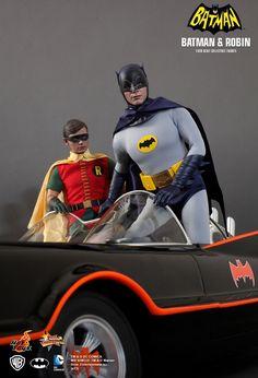 Batman & Robin (1/6th Scale)