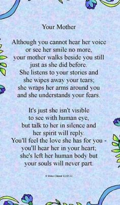I miss you mom poems 2019 mom in heaven poems from daughter son on mothers day. ❤️ Mommy heaven poems for kids who miss their mommy badly sayings quotes wishes. Mothers In Heaven Quotes, Missing Mom In Heaven, Mom In Heaven Quotes, Mother's Day In Heaven, Happy Mother Day Quotes, Mother Quotes, Mom Quotes, Heaven Poems, Happy Mothers
