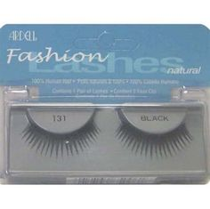 Luxe Beauty Supply - Ardell Fashion Lash 131 Black, $3.99 (http://www.lhboutique.com/ardell-fashion-lash-131-black/)