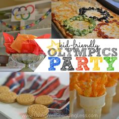 Kid Friendly Olympics Party! – Living Well Spending Less™