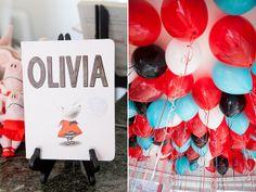 Oliva The Pig birthday party
