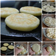 Arepas de Yuca | Receta #VenezuelaTeQuiero - Naturalmente Mama Yuca Recipes, Cooking Recipes, Recipies, Fun Easy Recipes, Healthy Recipes, Raw Recipes, Colombian Cuisine, Yucca, Venezuelan Food