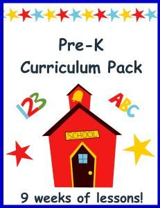 Preschool Curriculum Pack: Preschool made EASY! Instant download, just print and go! Save time and money!