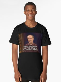 6a3d171ed Colin Mochrie - Getting Drunk | Long T-Shirt