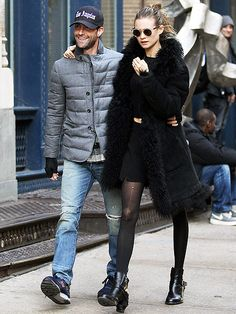 Star Tracks: Monday, November 18, 2013 | COUPLED UP | Just one day after leading the standing ovation for fiancée Behati Prinsloo at the Victoria's Secret Fashion Show, Maroon 5 crooner Adam Levine joins his love on a Thursday stroll in New York City.