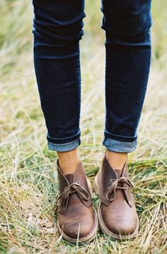 You can't go wrong with the classic Desert Boots from Clark's.