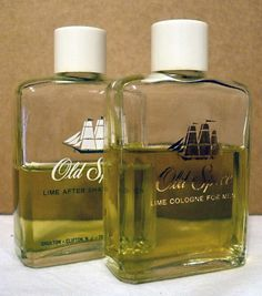 Vintage Old Spice Lime Cologne and After Shave