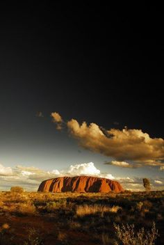 """'Uluru' – the famous 'Ayers Rock' , a large sandstone rock formation in Northern Territory, central Australia / photographed at sunset by Michael Pfeiffer. One of its many """"faces"""". Australian Photography, Nature Photography, Ayers Rock Australia, Darwin Australia, Beautiful World, Beautiful Places, Pretty Images, Australia Travel, Places To See"""