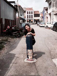 Penang Armenian Art Street Mural Art, Street Art, Sequin Skirt, Sequins, Skirts, Fashion, Moda, Wall Art, Skirt