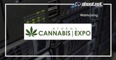 Η #aboutnet ανέλαβε να φιλοξενήσει στους ταχύτατους #webservers της, την ιστοσελίδα της 1ης έκθεσης Athens Cannabis Expo.