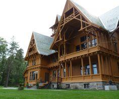 Villa Fridheim was built in 1890-92 Norway