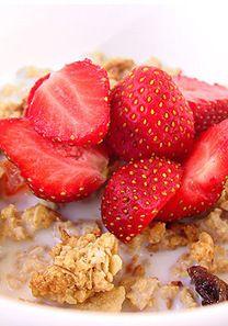 Recetas bajas en calorías: Cereales con fresas | Nutrición