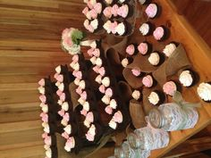 Rustic Cupcake Display - picture only