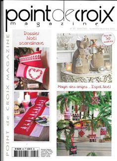 Title: Point De Croix Magazine 2013 Author: Emili, Length: 63 pages, Published: Diy Embroidery, Cross Stitch Embroidery, Cross Stitch Patterns, Magazine Cross, Book And Magazine, Cross Stitch Magazines, Cross Stitch Books, Christmas Cross, Christmas Diy