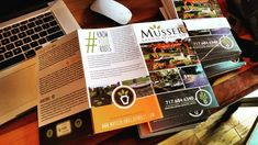 New marketing materials arriving daily. Have you updated your sales materials lately? #musserlandscaping #knowyourroots #landscapedesign #landscaping #hardscaping #maintenance #lancasterpa #yorkpa #brochure #marketing #marketingmaterials #advertising