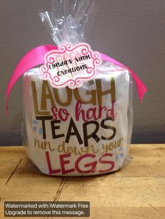 Ideas Funny Christmas Presents For Mom White Elephant Christmas Presents For Moms, Family Christmas Gifts, Gifts For Family, Christmas Crafts, Toilet Paper Humor, Toilet Paper Crafts, Embroidered Toilet Paper, Christmas Toilet Paper, Gag Gifts