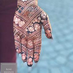 Emma of Rose Mehndi used STAIN ORGANIC's Luxe Henna Paste to create this incredible piece while vacationing in Portugal. Click the pic to get your Luxe Henna Paste! The Ultimate Luxury Henna. Henna Art Designs, Indian Mehndi Designs, Mehndi Designs 2018, Stylish Mehndi Designs, Mehndi Designs For Fingers, Wedding Mehndi Designs, Mehndi Design Pictures, Beautiful Mehndi Design, Mehandhi Designs