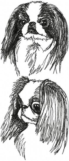 Advanced Embroidery Designs - Japanese Chin Set