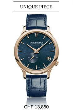Chopard L.C XPS Twist QF Fairmined - Chopard uses ethical gold for the Chopard L.C XPS Twist QF Fairmined and it is heavily tested to underline its extreme high quality - Your Watch Hub Gents Watches, Watches For Men, Unique Watches, Latest Watches, Fleurier, Mens Rose Gold Watch, Patek Philippe Aquanaut, Swiss Luxury Watches, Chopard
