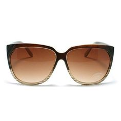 Brown Cateye Style Oversized Sunglasses 106Shades. $9.90