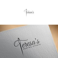 Logo design for Sewing Business , I am looking for a logo design for my new business. I make custom dresses. I specialize in difficult to fit women. Typographie Logo, Web Design, Graphic Design, Sewing Art, Sewing Studio, My Boutique, Creative Logo, Logo Nasa, Logo Design Inspiration