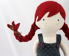 Pippi - Pretty Poppet Doll via Etsy