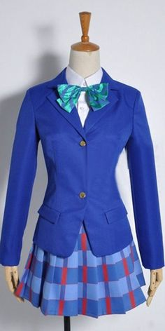 FOCUS-COSTUME Love Live! Ayase Eli Suit Skirt cosplay Costume * Click image for more details.