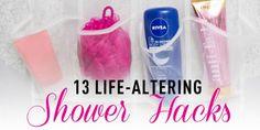 13 Life-Altering Shower Hacks #Fashion #Trusper #Tip