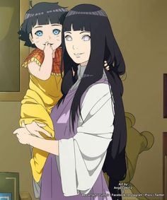 Hinata and Himawari so cute Himawari •*3*•