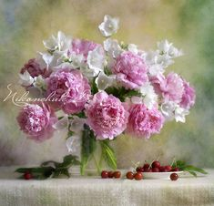 The best pic with peonies!