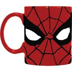 Spider-Man Eyes Coffee Mug