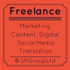 #Freelance by @SPGroupLtd #Marketing and #SocialMedia Management