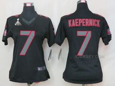 http://www.yjersey.com/nike-49ers-7-kaepernick-black-impact-women-limited-2013-super-bowl-xlvii-jersey-cheap.html Only$36.00 #NIKE 49ERS 7 KAEPERNICK BLACK IMPACT WOMEN LIMITED 2013 SUPER BOWL XLVII JERSEY #CHEAP Free Shipping!