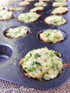 HEALTHY EATING - #Recipe: Broccoli Cauliflower Quinoa Bites