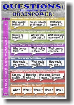 новый школьный класс плакат-вопросы для строительства вашей интеллектом!