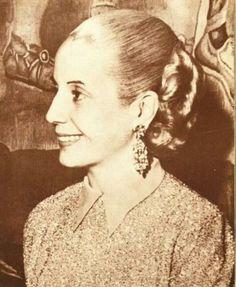 Eva Duarte de Peron, Evita.