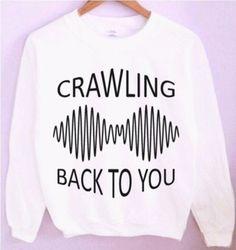 Arctic Monkeys Crewneck/Sweatshirt by CrewWear on Etsy. Anyone wanna buy it for… Arctic Monkeys, Diesel Punk, Band Merch, Band Shirts, Grunge Fashion, Teen Fashion, Cyberpunk, Rockabilly, Emo