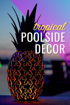 Poolside Decor Pool, patio, and garden accents that add fun, flare and color to your outdoor space! Backyard Pool Designs, Backyard Patio, Backyard Landscaping, Landscaping Costs, Tropical Pool Landscaping, Landscaping Blocks, Landscaping Company, Cactus, Cool Pools