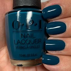 OPI Drama at La Scala Opi Gel Nail Colors, Opi Colors, Pretty Nail Colors, Gel Polish Colors, Pretty Nails, Dark Skin Nail Polish, Opi Gel Nail Polish, Bad Nails, Fabulous Nails