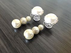 2g Dangle Plugs, 0g Ear Plugs, 4g Bridal Plugs 00g Tripple Pearl Plugs 8mm 6mm 5mm Gauge Formal Wedding Dangle Ear Plugs Acrylic/Steel/Wood