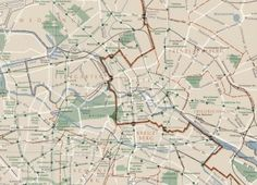 Map Of West Berlin Published In The USSR Cold War Cold - Map of divided berlin