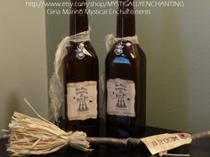 Three Broomsticks Harry Potter Style by MYSTICALLYENCHANTING, $10.50