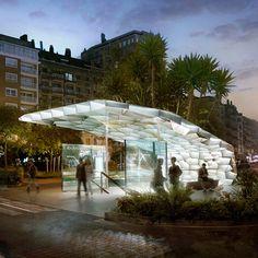 Architects: Snøhetta  Location: San Sebastian, Spain