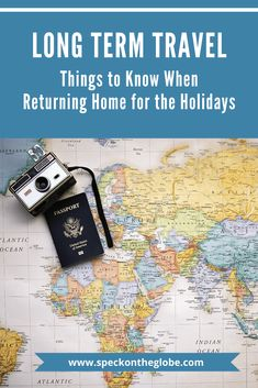 Long Term Travel and returning home for the holidays. When your round the world trip ends and you come home for end of year celebrations. How you can prepare for the transition back home. #longtermtravel #traveltips