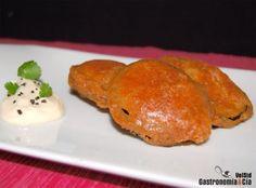 Berenjenas en tempura al pimentón