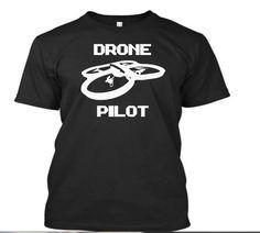 be4ba463 Drone Pilot Tshirt RC Drone Shirt Ar Drone, Drones, Pilot T Shirt, Geek