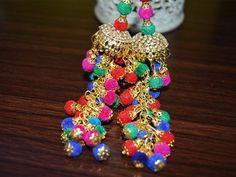 Multicolor Tassel for Wedding Lehenga / Dress Blouses / Indian Embellishment / Accessories Latkan / Saree tassel / Dupatta Tassel